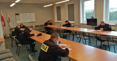 Szkolenie Naczelników Ochotniczych Straży Pożarnych zakończone.